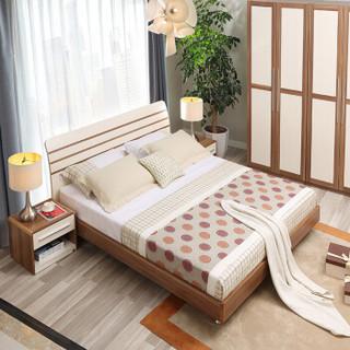 A家家具 床 现代简约 A008-150 浅色 纳米板 217.6*159*28.8cm