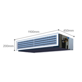 DAIKIN 大金 一拖一风管机直流变频冷暖中央空调