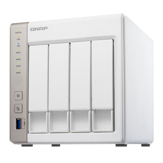 NAS存储解决方案 (WD红盘8TB NAS硬盘 + 威联通四盘位 NAS网络存储)
