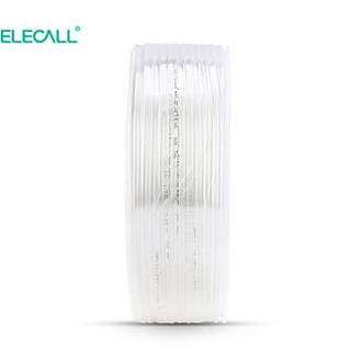 伊莱科 (ELECALL)PU气管 12*8(透明)90M 气管PU管气动软管空压机用软管风管 整卷 ET700215
