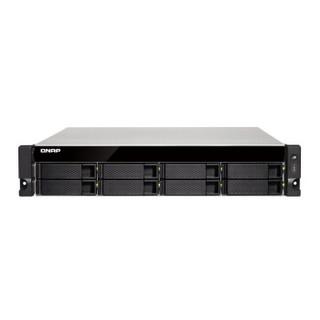 威联通(QNAP)TS-853BU-8G内存 单电源企业级8盘机架式网络存储服务器NAS 含导轨(无内置硬盘)