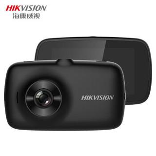 海康威视(HIKVISION)AE-DN2312-C4 新款智能汽车载行车记录仪1080P高清夜视180°广角+128G卡套餐