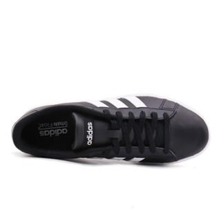 adidas 阿迪达斯 男子 休闲运动系列 DAILY 2.0 运动 休闲鞋  DB0161 黑色  43码  UK9码