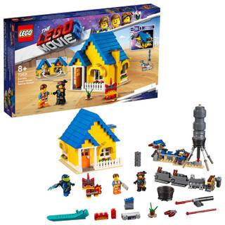 乐高(LEGO)积木 LEGO Movie乐高大电影2艾米特的梦幻飞屋和救援火箭8岁+ 70831 儿童玩具 男孩女孩生日礼物
