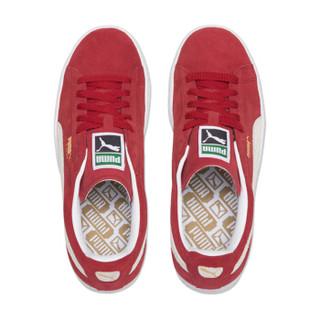 彪马PUMA 男女同款 休闲鞋 板鞋 SUEDE CLASSIC+ 反毛皮 运动鞋 352634 05红色42码