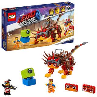 乐高(LEGO)积木 LEGO Movie乐高大电影2超级猫和武士露西8岁+ 70827 儿童玩具 男孩女孩生日礼物 1月上新