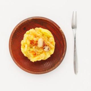 京鲁远洋 冷冻天妇罗鱿鱼饼 600g 12枚 盒装 煎炸小食 自营海鲜水产