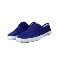 双安 劳保鞋男女防静电 由导电橡胶棉布制成的适用于易产生静电及需要防静电的作业场所 蓝色37