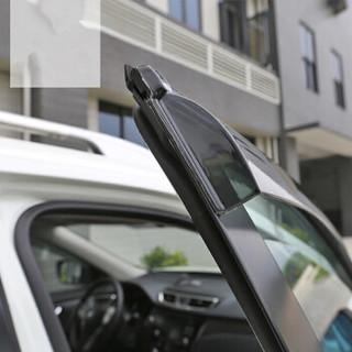 博尔改 雪佛兰科沃兹晴雨挡 车窗雨眉带亮条挡雨板遮雨遮阳挡汽车配件 改装科沃兹专用
