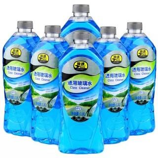 pusu 普速 汽车玻璃水 6瓶装 *3件