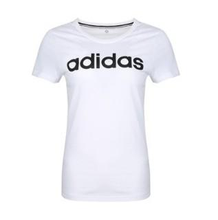 adidas NEO 阿迪达斯 休闲运动  DW7941 女士T恤