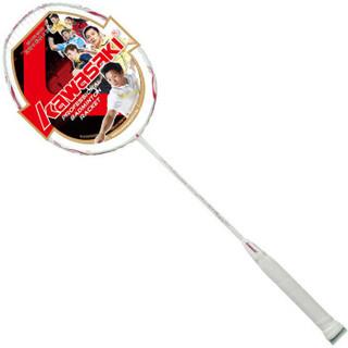 川崎KAWASAKI 5710 女神专属全碳素二星羽毛球拍单拍羽拍 已穿线 *3件