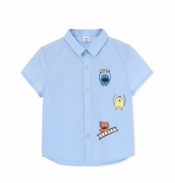 Balabala 巴拉巴拉 男童短袖衬衫