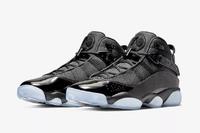 Air Jordan 6 Rings 复刻篮球鞋 Black Ice