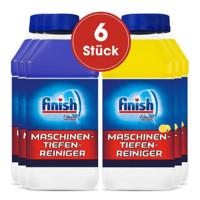 Finish 亮碟 洗碗机清洁剂 250ml*6瓶