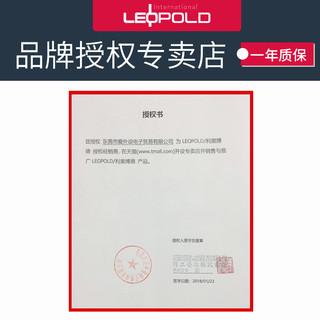 Leopold 利奥博德 FC980M 有线cherry樱桃游戏机械键盘pbt键帽 (青轴、白绿、 USB、98键)