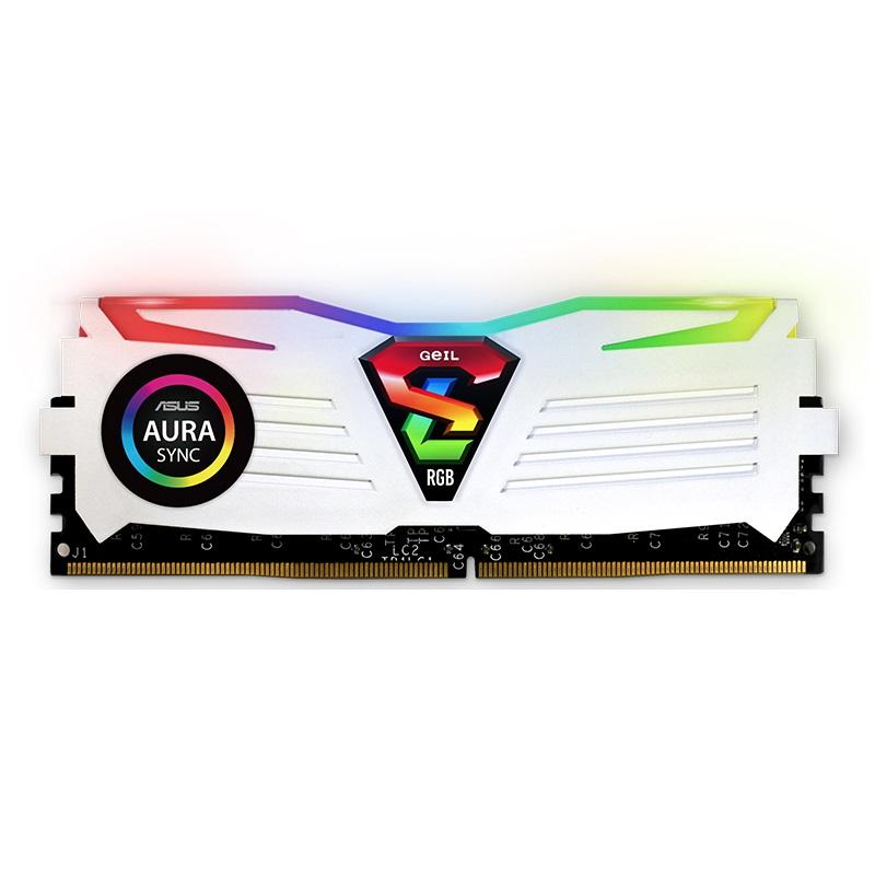 GEIL 金邦 极光SUPER LUCE 系列 DDR4 3000MHz 台式机内存 16GB(8GBx2)