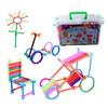 乐乐鱼(leleyu) 益智积木1000个收纳盒装 聪明棒积木 幼儿园儿童启蒙早教塑料拼插拼装益智