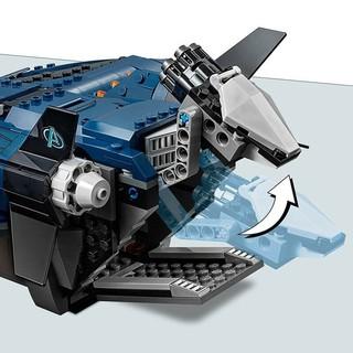 LEGO 乐高 超级英雄系列 76126 复仇者联盟昆式战斗机