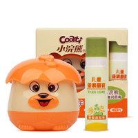 小浣熊 儿童水嫩呵护舒缓保湿霜30g 送儿童唇膏 *2件