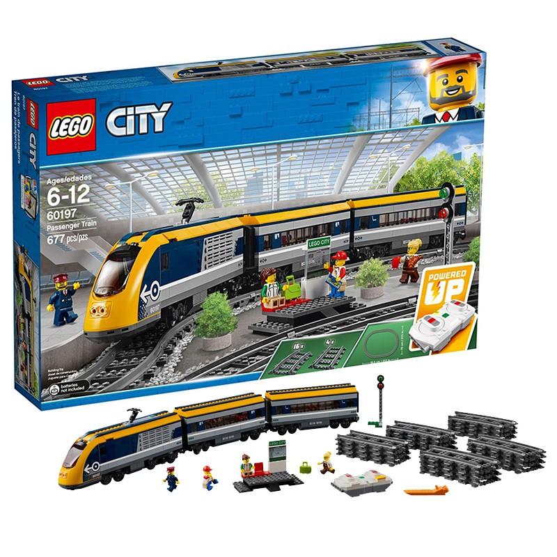 LEGO 乐高 城市系列 60197 客运火车
