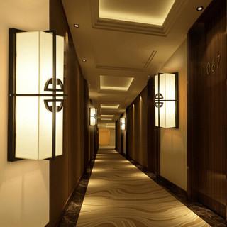 HD 新中式壁灯 客厅装饰灯卧室床头灯具 酒店墙壁灯走廊过道灯 锦瑞(含LED光源)