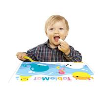 K-MOM 一次性幼儿便携餐桌垫桌布桌垫防水 餐桌垫 (20枚、组合装)