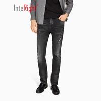 InteRight 男款破洞牛仔裤 *2件 +凑单品