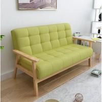 择木宜居 小户型沙发 草绿色(麻布)双人位