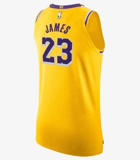 NIKE 耐克 洛杉矶湖人队 勒布朗·詹姆斯球衣