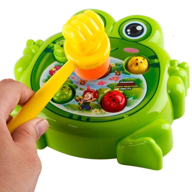 青蛙电动打地鼠玩具