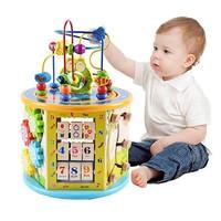 ORANGE ELEPHANT 橙象 动物游戏盒 儿童绕珠百宝箱