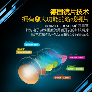 HINDAR 防辐射 防蓝光 护目镜HGA029