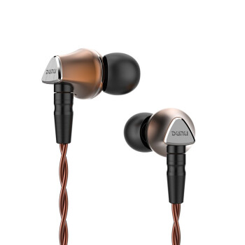 DUNU 达音科 Titan-6 入耳式耳机 咖啡色