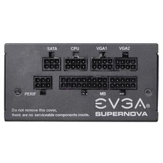 EVGA GM 额定550W 电源 (550W、 90% )