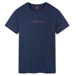 CAMEL 骆驼 X8B374051 男士印花短袖T恤