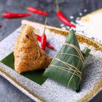京东京造 粽子礼盒 4味8粽 800g