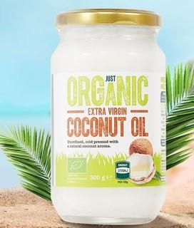 ALDI 奥乐齐 斯里兰卡进口 冷压初榨椰子油  300g*2瓶