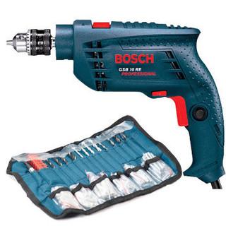小编精选 : BOSCH 博世 GSB10RE 10毫米冲击钻套装(含100件附件)