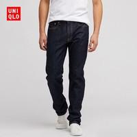 优衣库 UNIQLO 413155 男装 经典直筒牛仔裤(水洗产品)