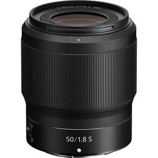 Nikon 尼康 NIKKOR Z 50mm F/1.8 S 全画幅 定焦镜头