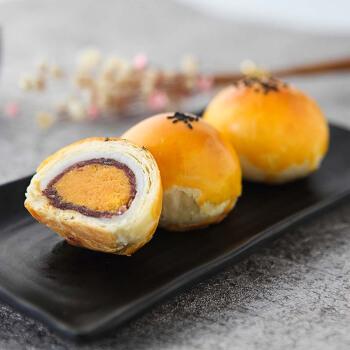 轩妈 轩妈家蛋黄酥 (330g、原味、礼盒装、6枚)