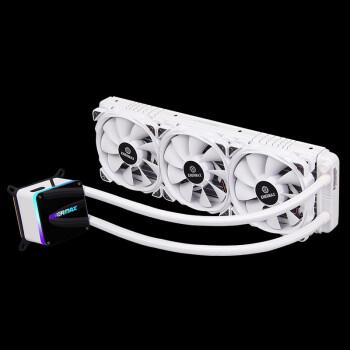 Enermax 安耐美 冰凌360 水冷CPU散热器 (白色、360冷排)