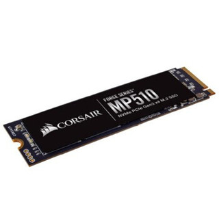 CORSAIR 美商海盗船 MP510 SSD 固态硬盘 (480G 、M.2接口(NVMe协议))