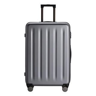 90分 行李箱 PC旅行箱男女 静音万向轮拉杆箱多瑙 (星空灰、20英寸)