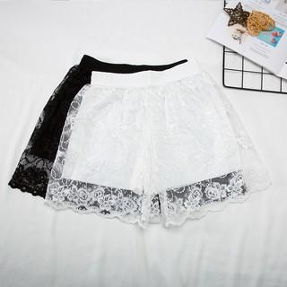 俏盾 女士蕾丝短裤