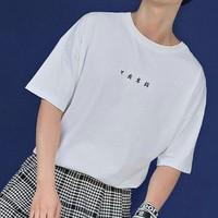 故宫宫廷文化携手时物恋 日食万钱双面穿T恤 男女同款 情侣款