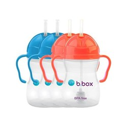 B.box 婴幼儿重力球吸管杯 240ml *4件
