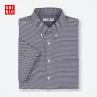 男装 DRY EASY CARE格子衬衫(短袖) 416928 优衣库UNIQLO