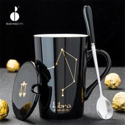 十二星座陶瓷杯马克杯420ml